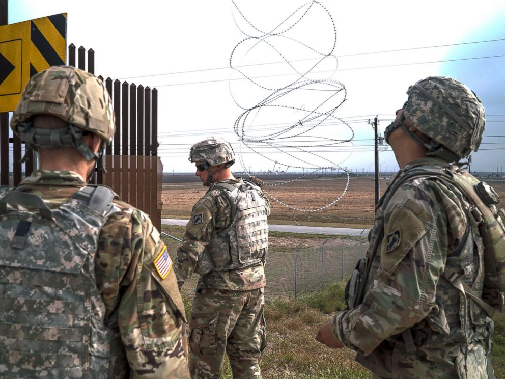 Pentagon sending another 3750 troops to Southwest border