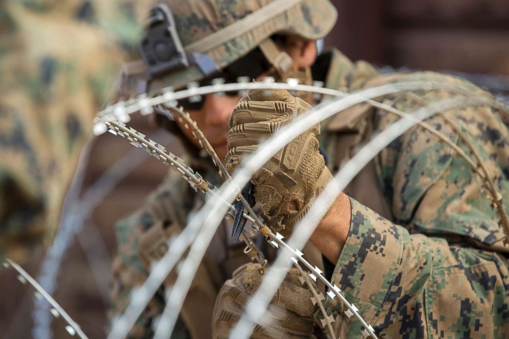 Pentagon sending 3,750 extra USA forces to border with Mexico