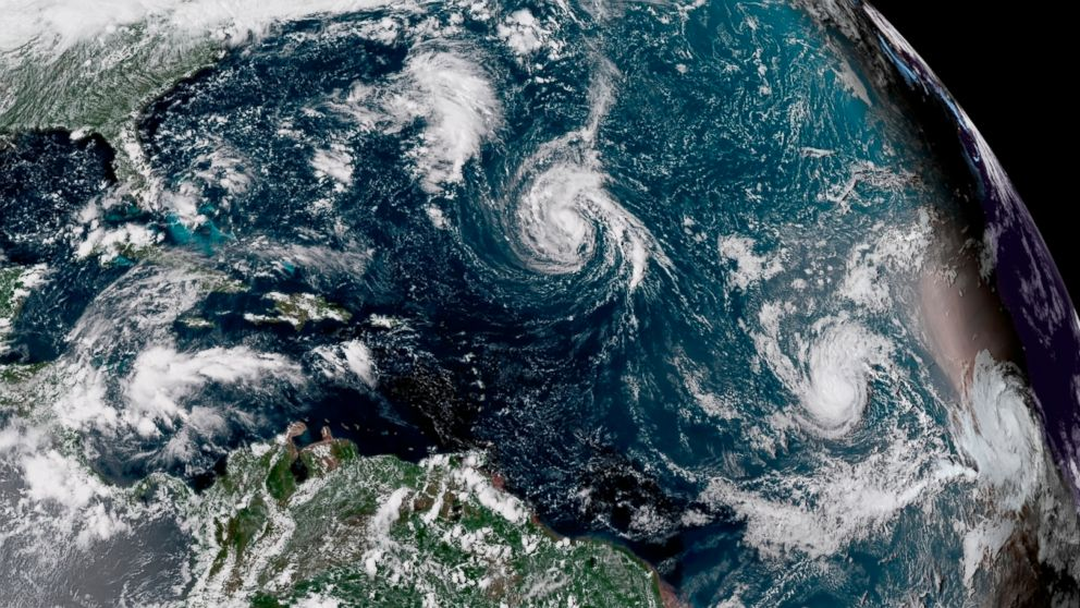 Hurricane Florence Strengthening As It Heads Toward East