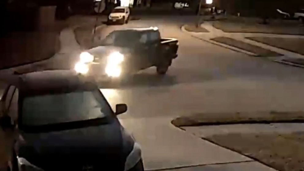 The suspect's car was caught on surveillance video in the killing of Elizabeth Barraza , Jan. 25, 2019.