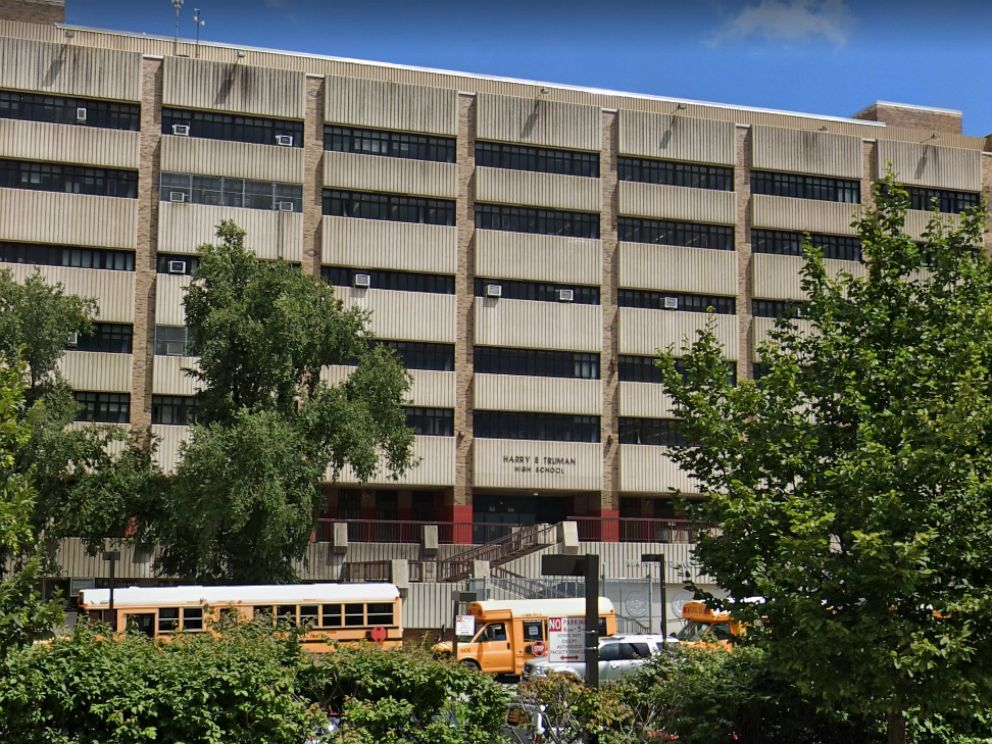 PHOTO: Harry S. Truman High School in the Bronx, N.Y.