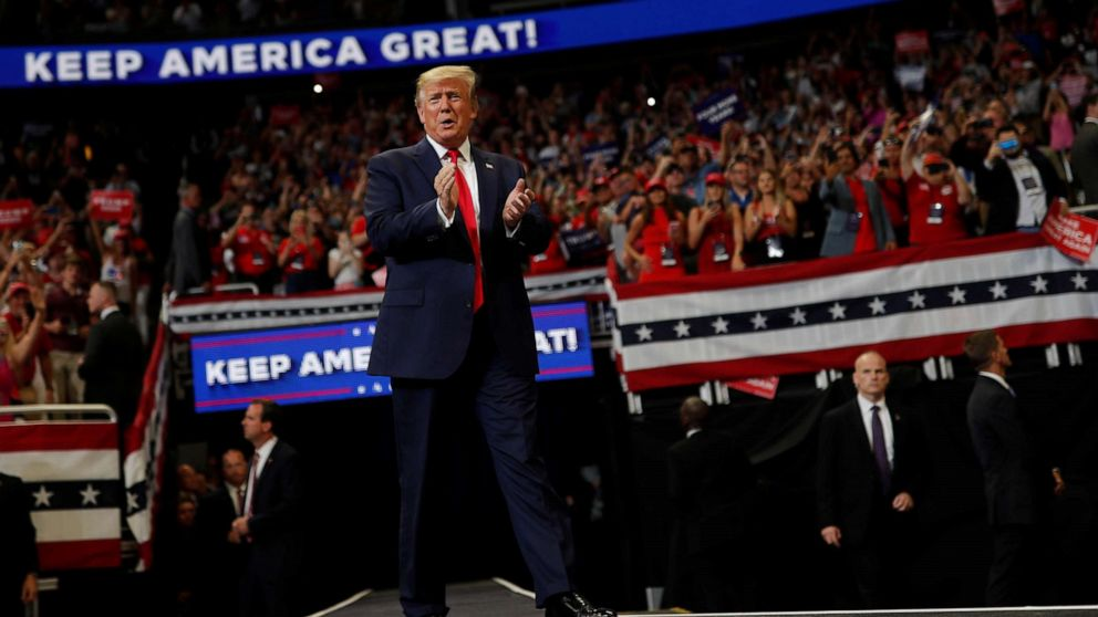 'Start Here': Trump kicks off 2020 campaign as his defense pick steps down thumbnail