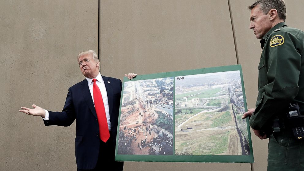 Judge blocks $1 billion in funding for President Trump's border wall