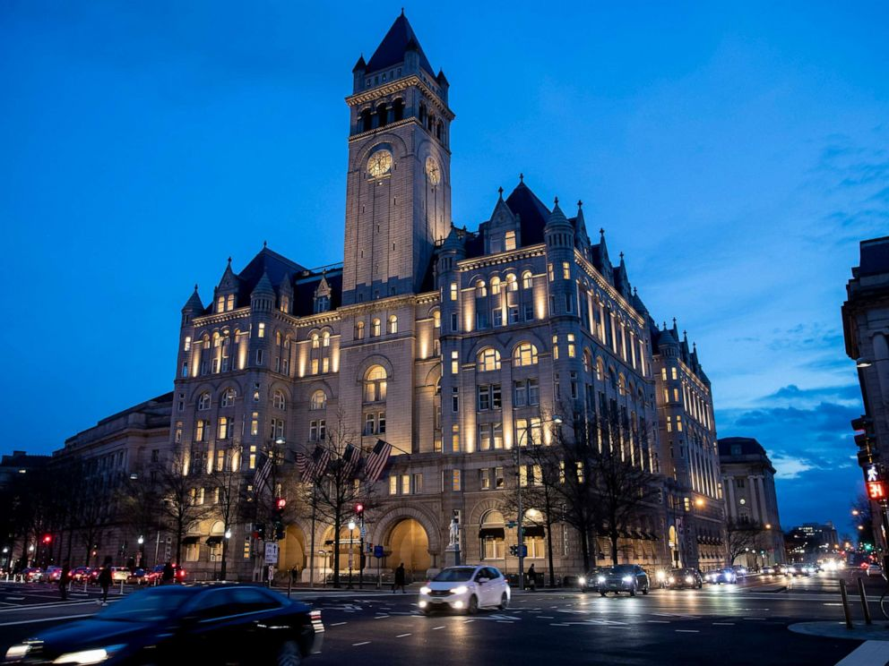 PHOTO: In this Jan. 23, 2019, file photo, the Trump International Hotel in Washington, D.C.