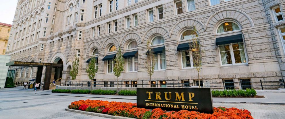PHOTO: A general view of the Trump International Hotel in Washington, D.C. is seen on Oct. 30, 2016.