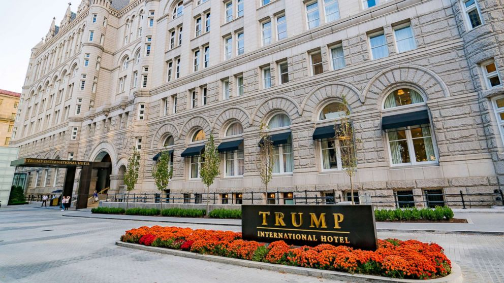 A general view of the Trump International Hotel in Washington, D.C.  is seen on Oct. 30, 2016.
