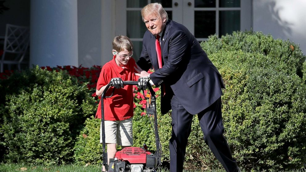 11 Year Old Who Mowed White House Lawn Said He Wanted To
