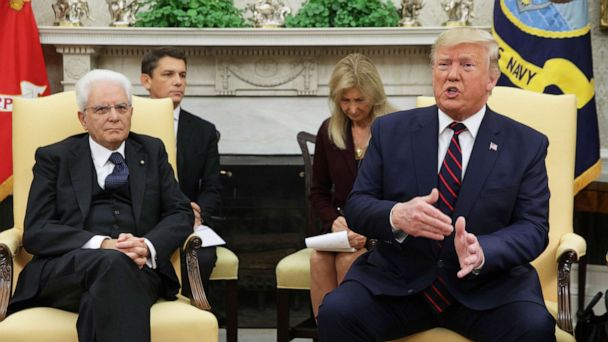 Trump on Turkey going into Syria: 'It's not our border'
