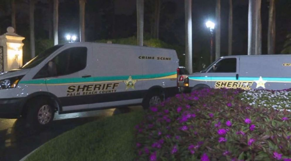 Palm Beach County Sheriffs Department was on the scene of the vandalism on Saturday night.