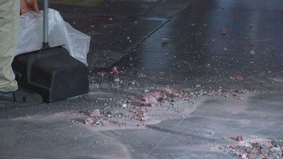 President Donald Trump's star on the Hollywood Walk of Fame was destroyed early this morning, according to ABC affiliate KABC-TV.