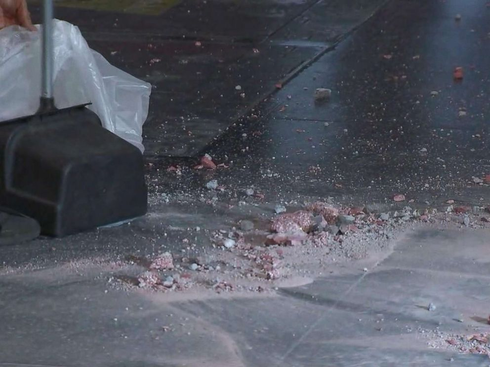 PHOTO: President Donald Trumps star on the Hollywood Walk of Fame was destroyed early this morning, according to ABC affiliate KABC-TV.