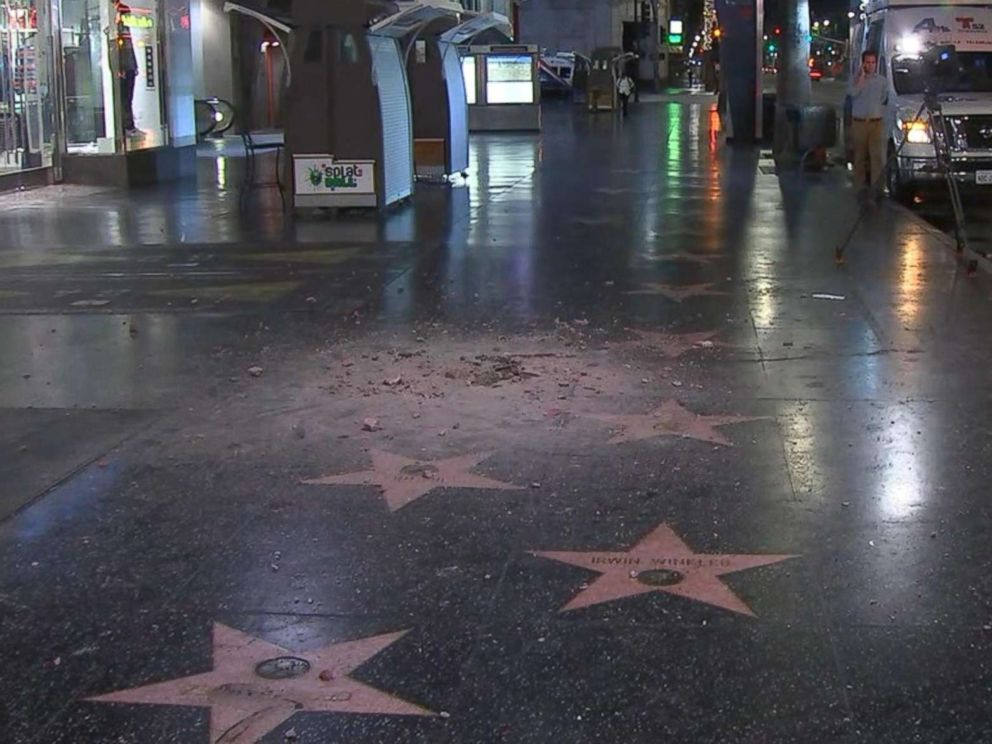 President Donald Trump's Hollywood Walk of Fame Star Destroyed