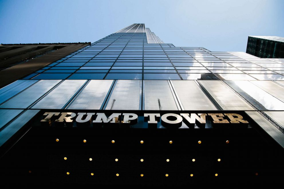 A view of Trump Tower in New York, June 14, 2018.