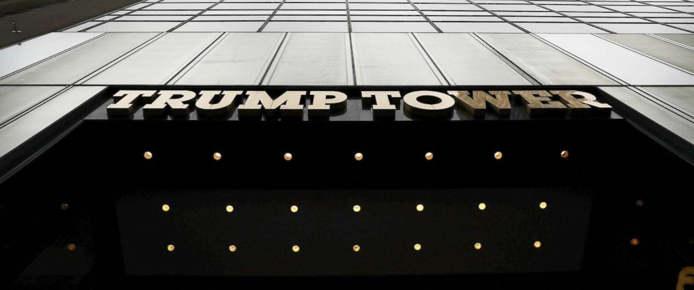 PHOTO: Trump Tower in Manhattan, Oct. 8, 2016, in New York.