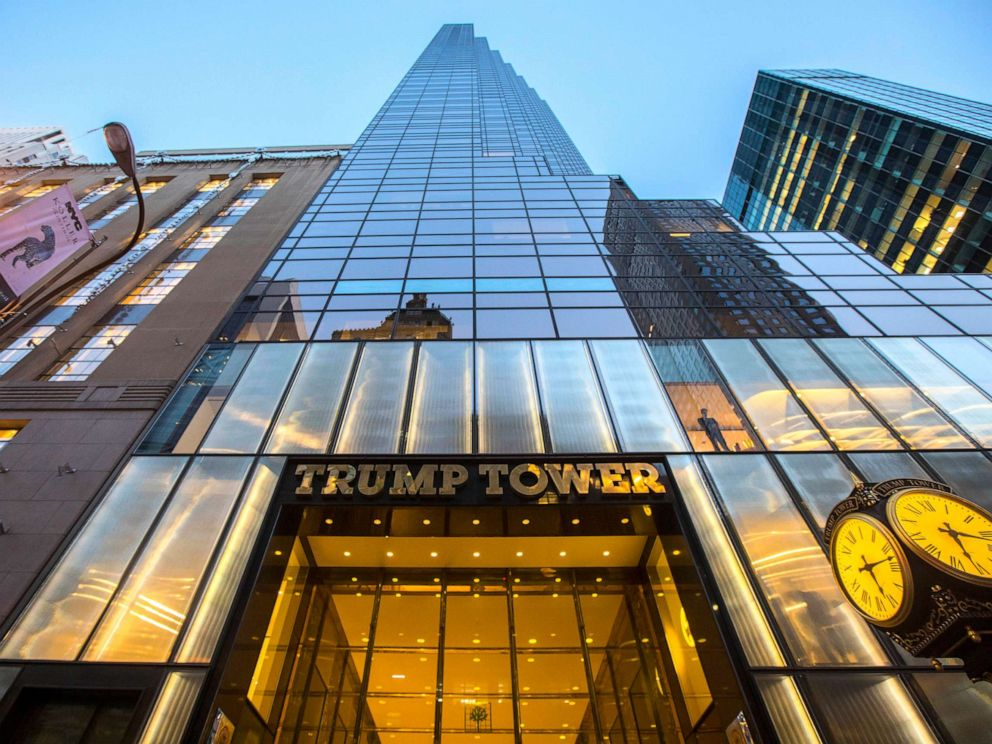PHOTO: Trump Tower on Fifth Avenue in Manhattan, Oct. 18, 2016.