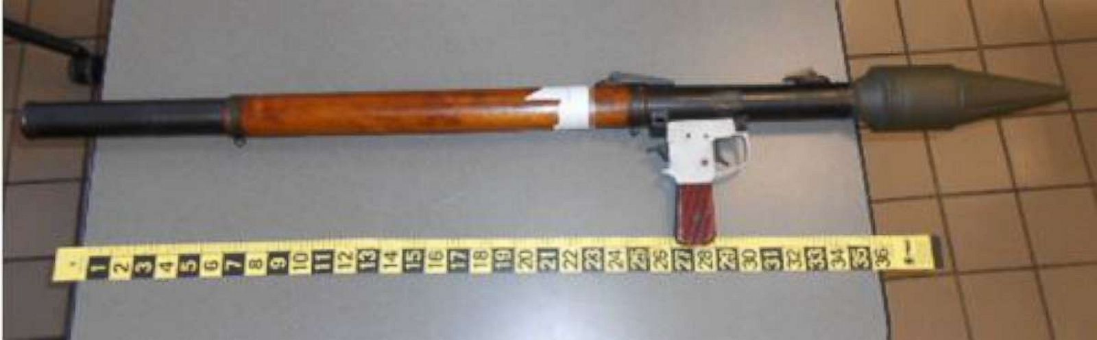 TSA confiscates rocket-propelled grenade launcher at Pennsylvania