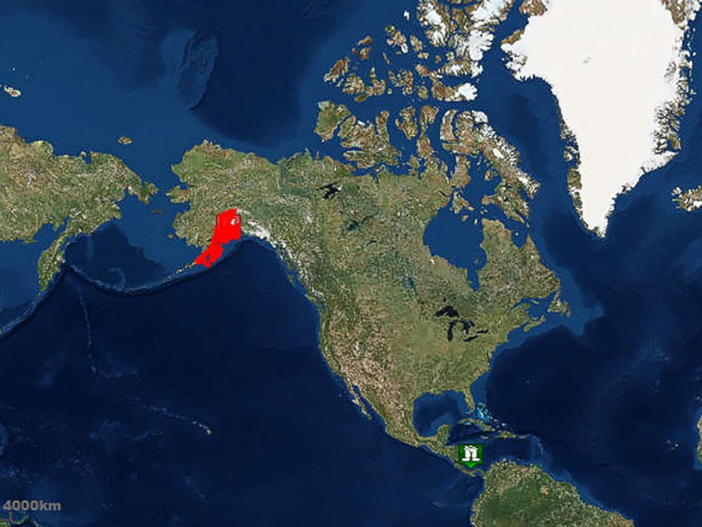 PHOTO: This map from the National Weather Service shows where in Alaska the Nov. 30, 2018, earthquake occurred.