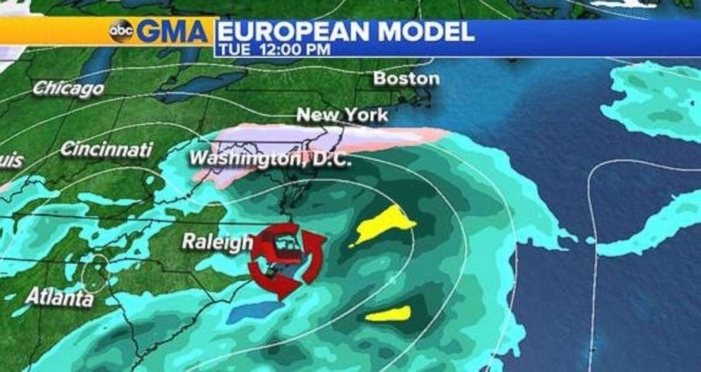 Winter Storm Toby Slams Mid-Atlantic, Northeast with Snowy Blast