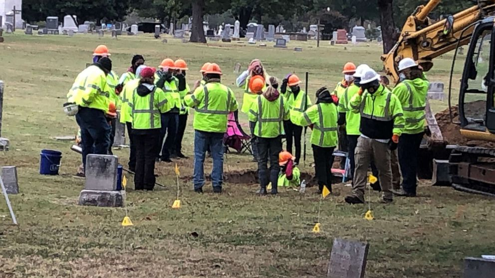 Mass grave discovered in search for 1921 Tulsa Race Massacre victims - ABC  News