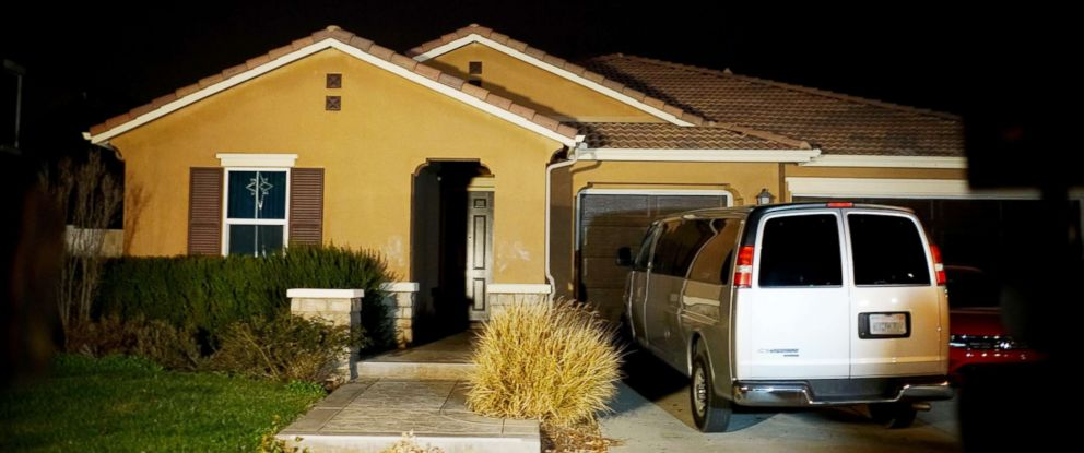 PHOTO: The home where a couple was arrested is shown, Jan. 15, 2018 in Perris Calif.