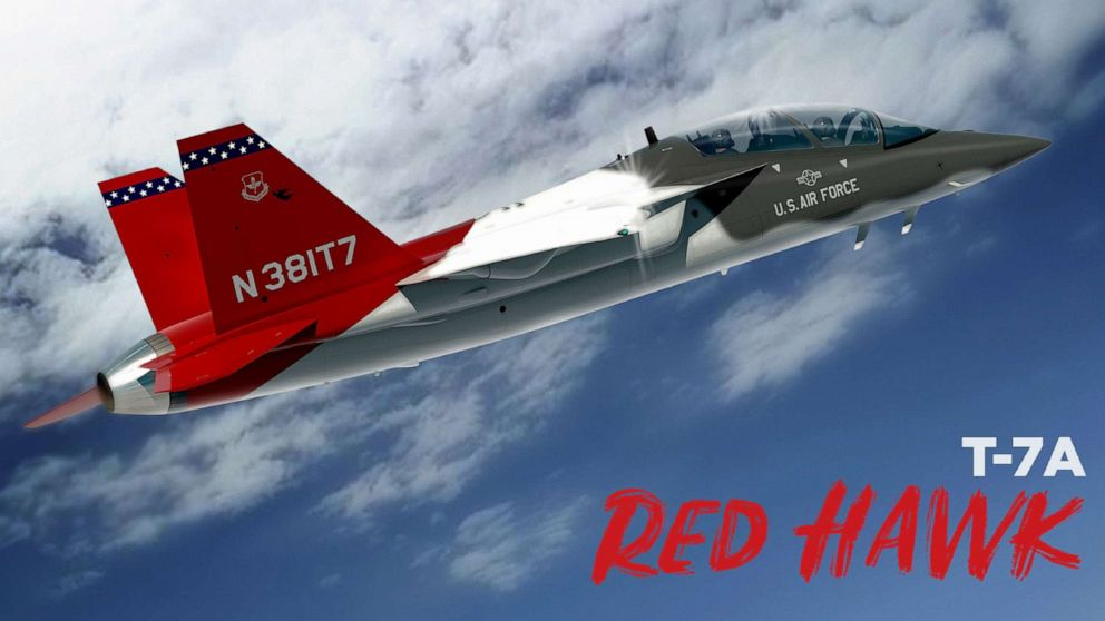 Air Force's newest aircraft named T-7A Red Hawk in honor of Tuskegee Airmen