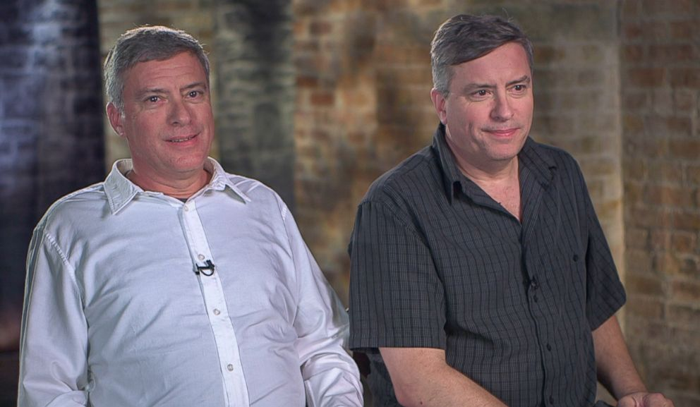 PHOTO: Howard Burack (left) and Doug Rausch (right) tell ABC News 20/20 about the story of their adoption and their reunion.