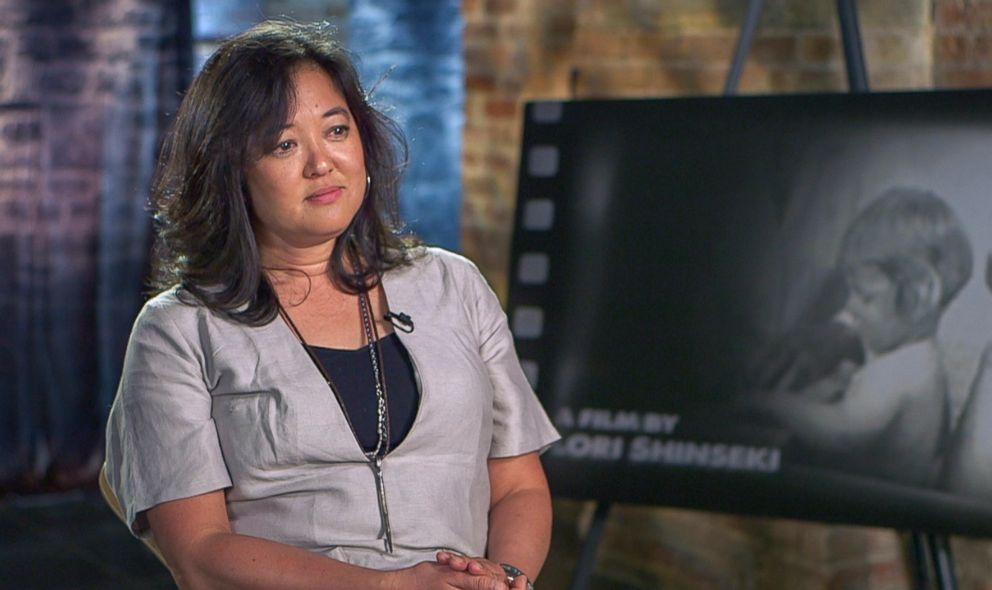 PHOTO: Filmmaker Lori Shinseki, who made the documentary, The Twinning Reaction, is seen here in an interview with 20/20