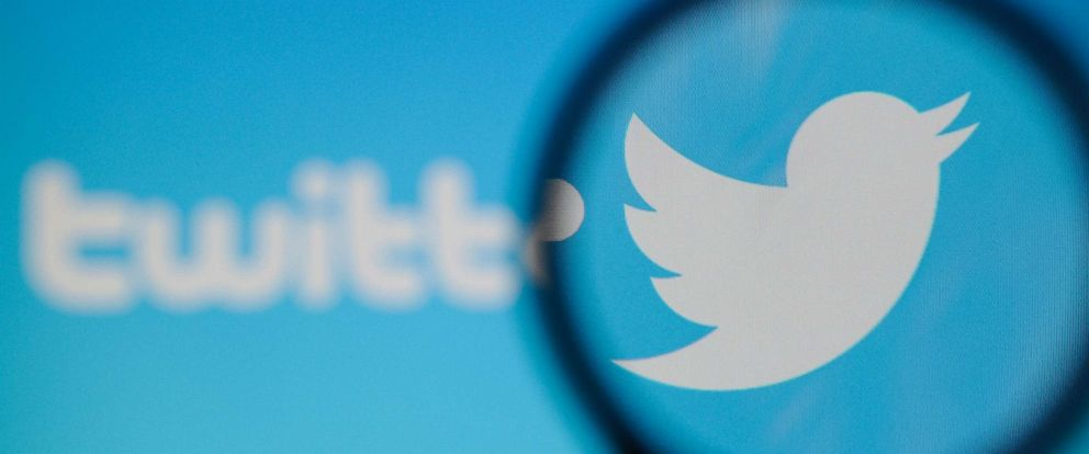 PHOTO: A Twitter logo is seen on a computer screen, Nov. 20, 2017.