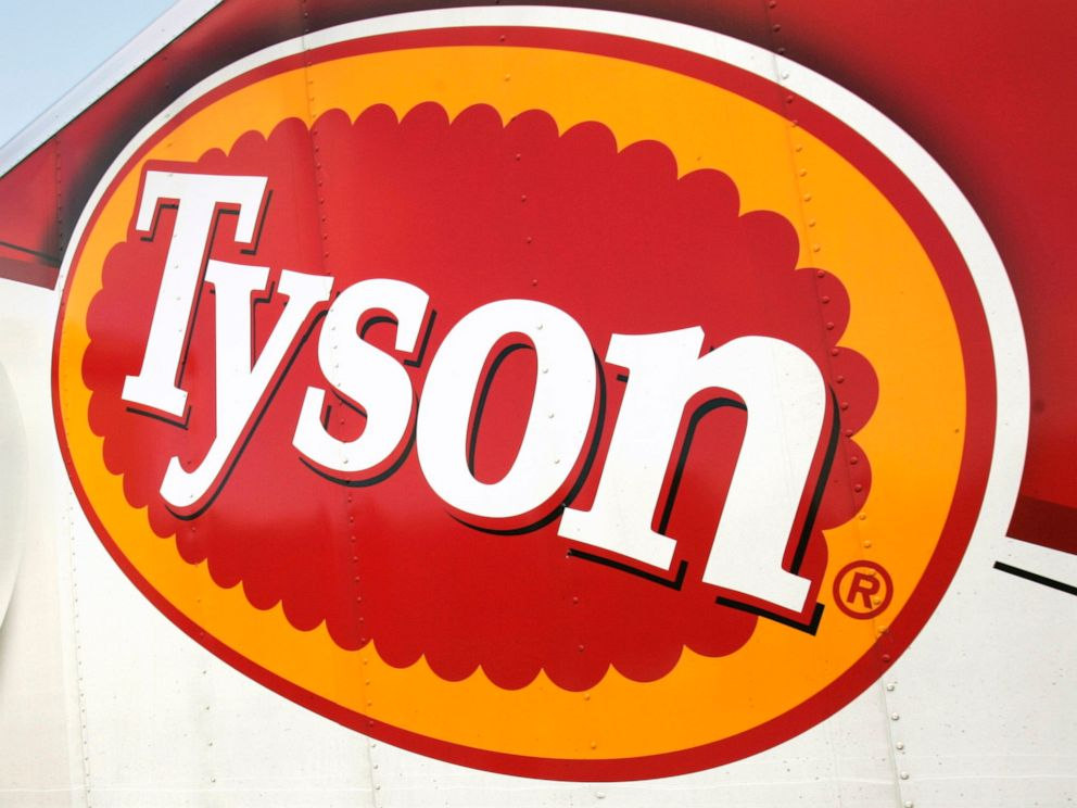 PHOTO: In this Oct. 28, 2009, file photo, a Tyson Foods, Inc., truck is parked at a food warehouse in Little Rock, Ark.