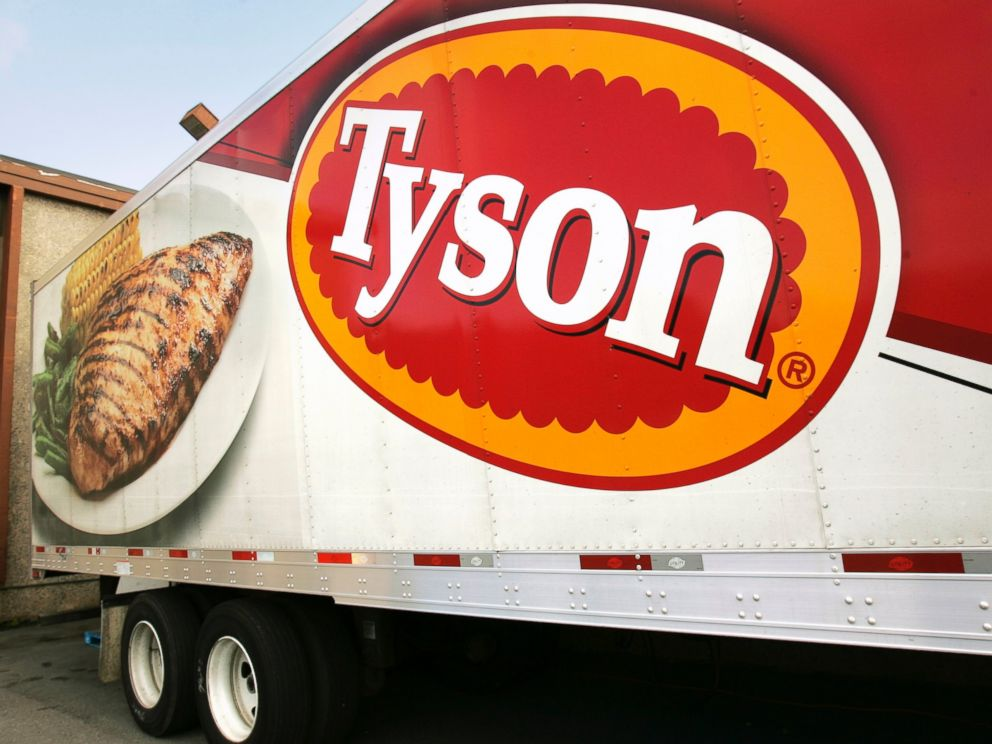 Tyson chicken strips have been recalled because they might have metal