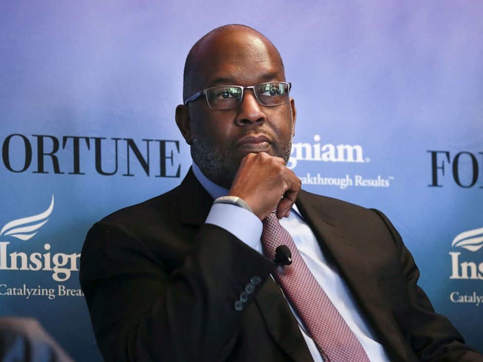 FILE PHOTO: Bernard Tyson, CEO of Kaiser Permanente, participates in a panel discussion at the 2015 Fortune Global Forum in San Francisco on Nov. 3, 2015. He died on Sunday, Nov. 10, 2019.