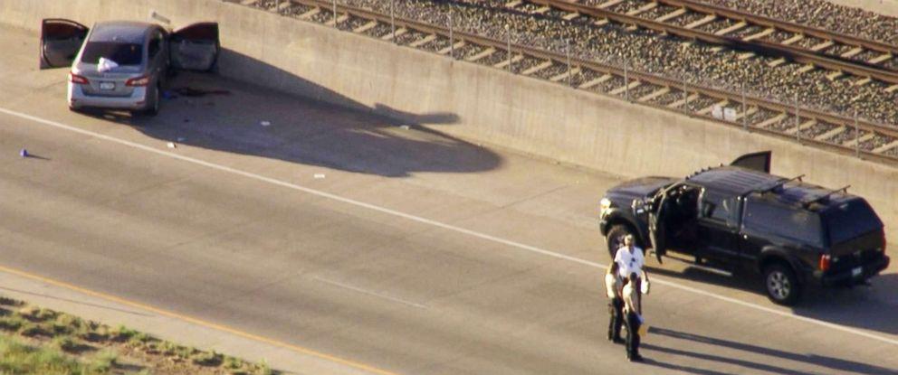 PHOTO: An Uber driver allegedly shot and killed a passenger in Denver, June 1, 2018.