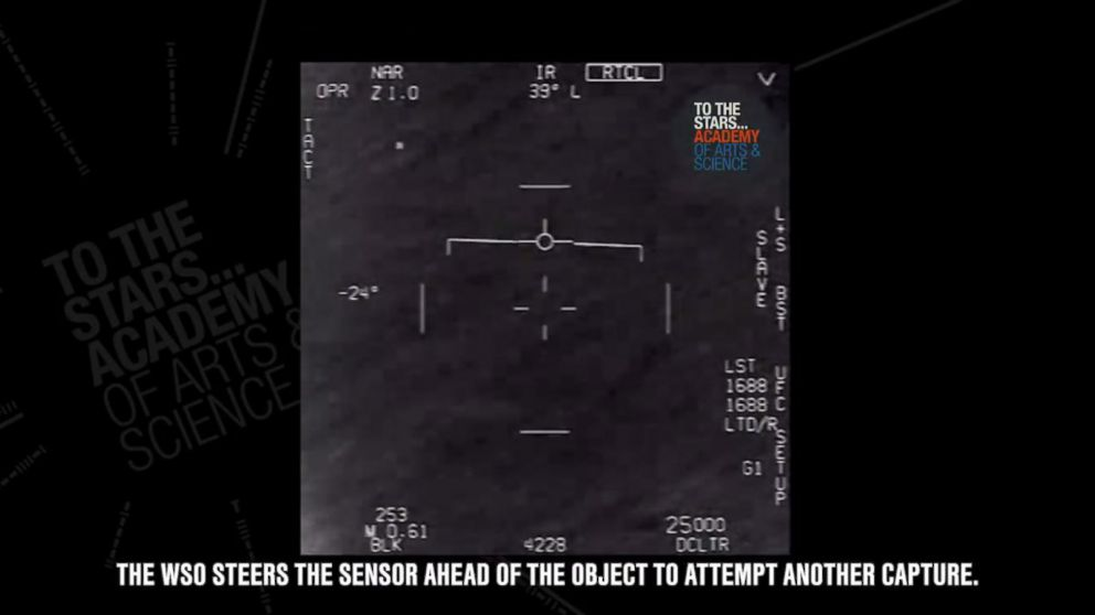 New video shows Navy pilot encountering UFO, group claims