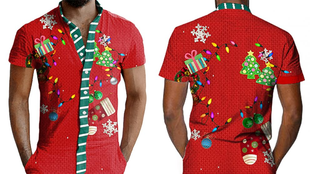 8bc7badf1901 Ugly  holiday rompers for men become unexpected trend of the season ...