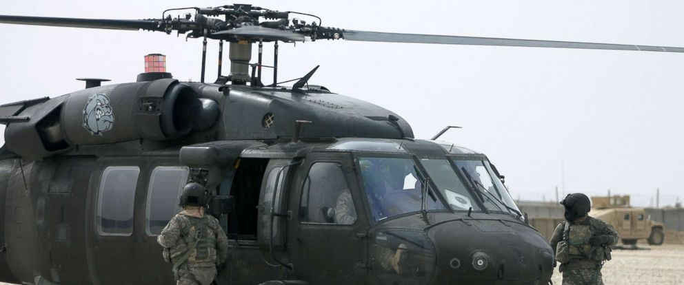 PHOTO: File photo of a UH-60 Black Hawk at Isaf military base in Afghanistan.