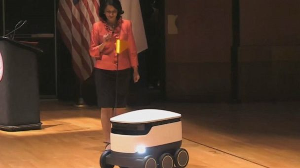 Starship Technologies robots to deliver food at University of Houston
