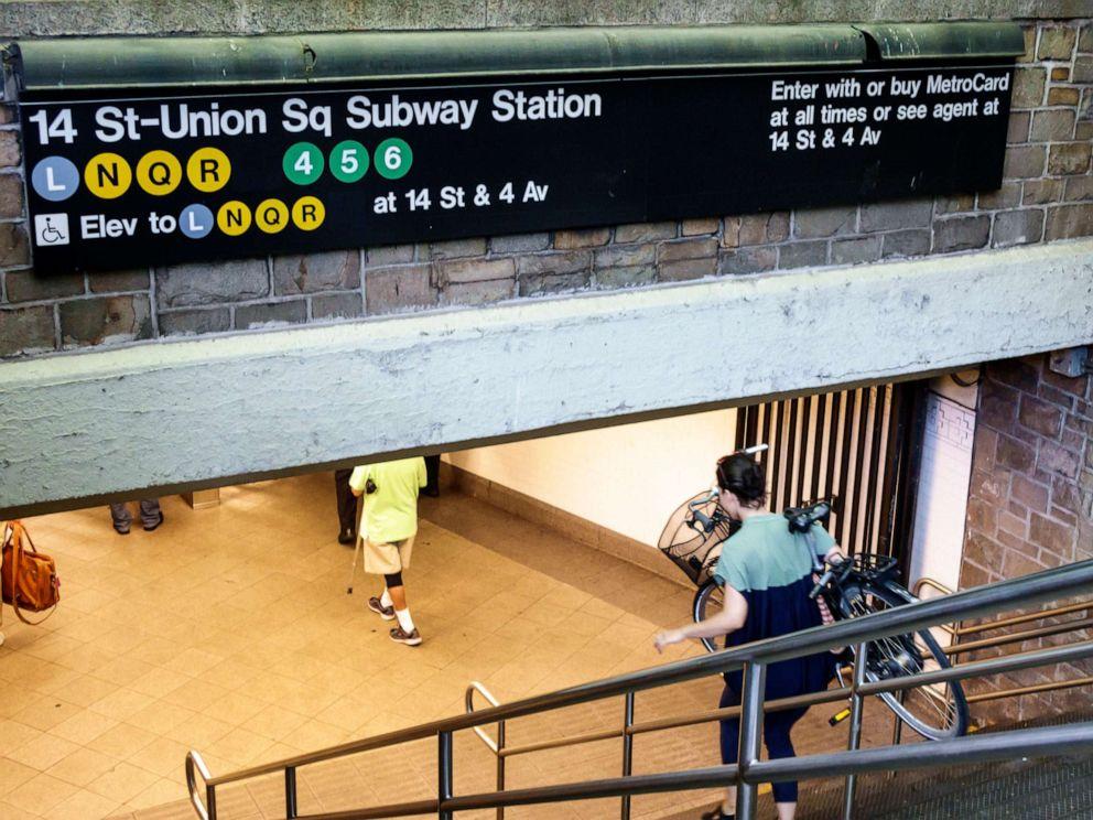 PHOTO: TThe 14th Street Union Square subway station entrance.