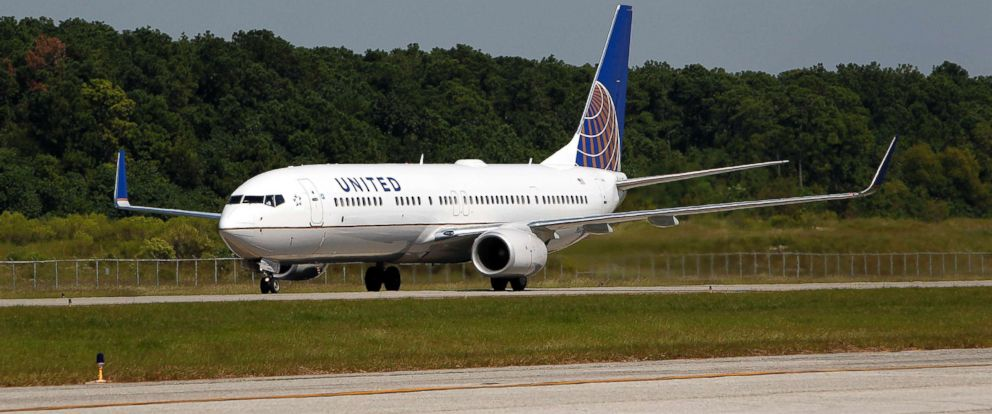 PHOTO: A file photo of a Boeing Co. 737-924 extended range jet bearing United Airlines livery and the Continental Airlines at George Bush Intercontinental Airport in Houston, Oct. 1, 2010.