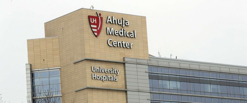 PHOTO: This Monday, March 12, 2018 file photo shows the University Hospital Ahuja Medical Center in Beachwood, Ohio.