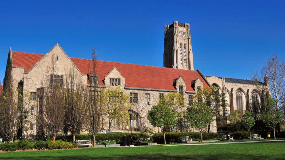 The campus of the University of Chicago is pictured in this undated stock photo.