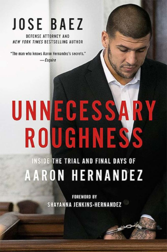 PHOTO: Jose Baezs new book, Unnecessary Roughness.