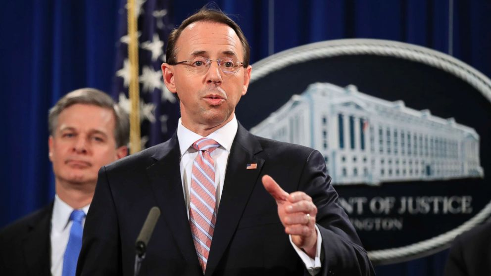 Deputy AG Rod Rosenstein staying longer at the Department of Justice: Sources thumbnail