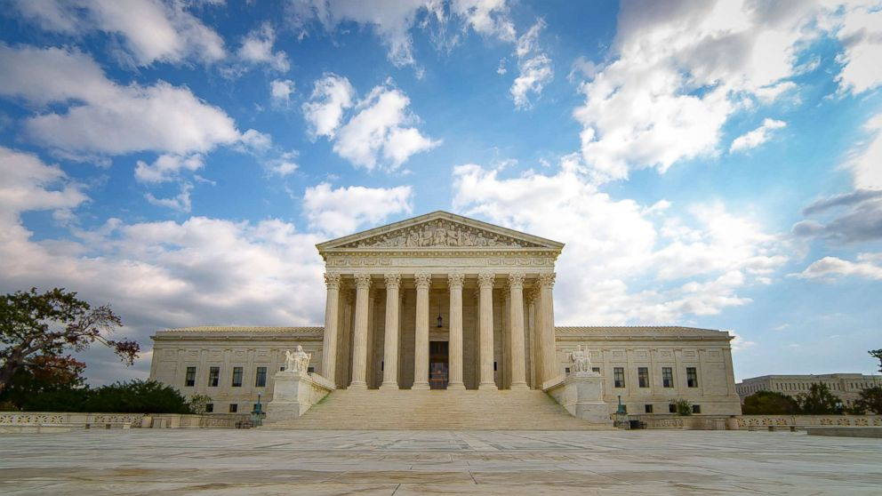 The United States Supreme Court Building in Washington D.C. is pictured in this undated stock photo.