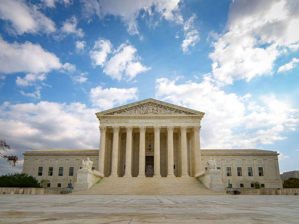 PHOTO: The United States Supreme Court Building in Washington D.C. is pictured in this undated stock photo.