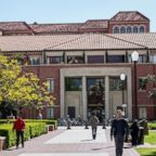 The University of Southern California campus, 2014.
