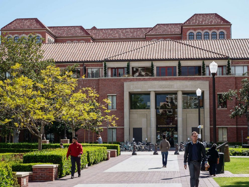 PHOTO: The University of Southern California campus, 2014.