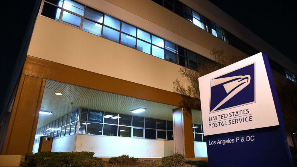 The United States Postal Service (USPS)  Processing and Distribution Center (P&DC) in Los Angeles, Oct. 24, 2018.
