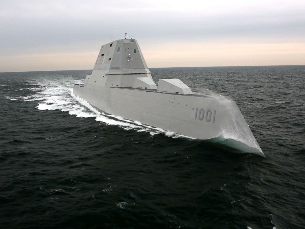 PHOTO: The Navy will commission its newest destroyer, USS Michael Monsoor (DDG 1001), Saturday, Jan. 26 during a ceremony at Naval Air Station North Island, San Diego, California, where the ship will be homeported.