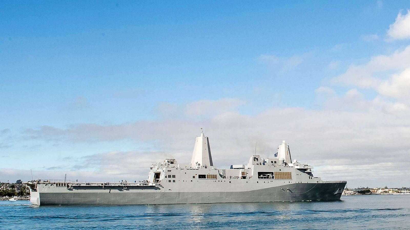 Two U.S. Navy Ships in the Middle East Battling Coronavirus Outbreaks