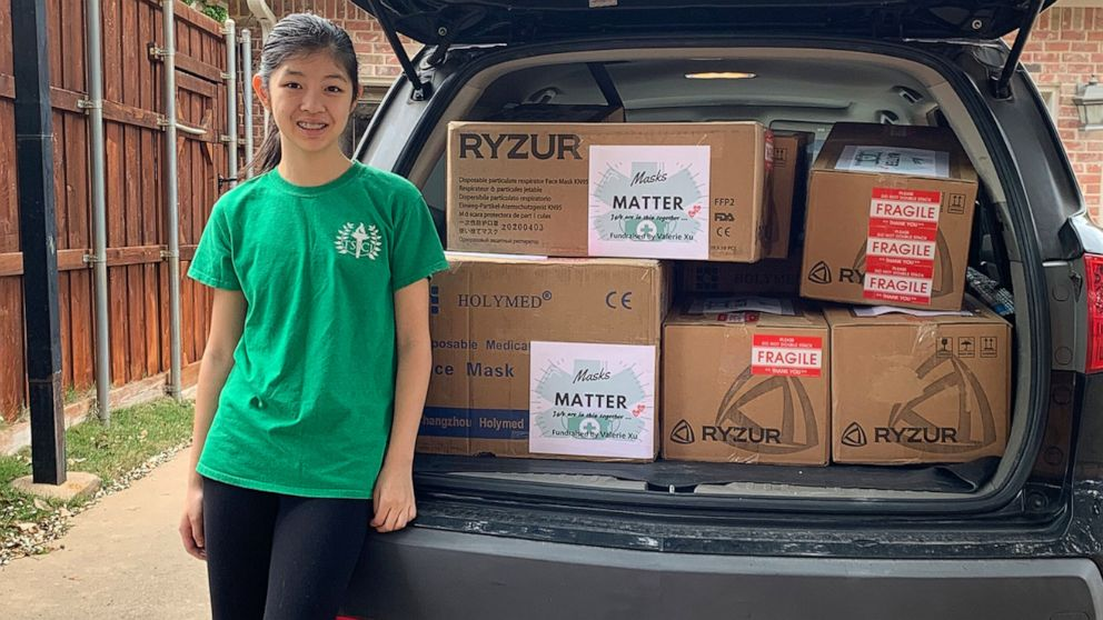 abcnews.go.com: 15-year-old collects 12,000 protective masks for hospital staff